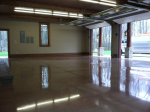 Polished Epoxy Garage Floor in Oceanside created by Oceanside Epoxy Flooring
