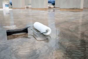 Sealing a Concrete Coating in Oceanside, California